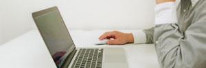 メールからのお問合せ ・便利な出張相談予約のイメージ